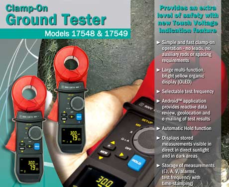Clamp On Ground Resistance Testers