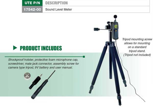 Sound Level Meter Tripod